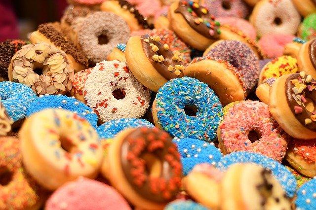 cukier w ciastkach