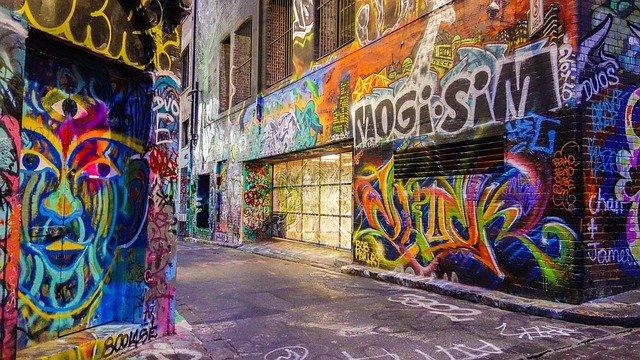 sztuka uliczna street art