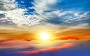 udaru słonecznego