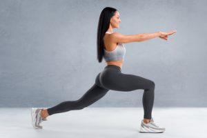 dynamiczne rozciąganie mięśni