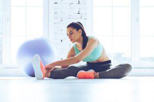 statyczne rozciąganie mięśni
