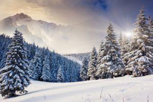 zima astronomiczna rozpocznie