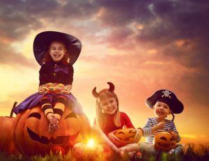 halloween dzieci